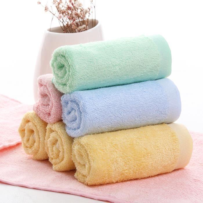 SERVIETTES DE BAIN Lot de 5 Serviettes de toilette pour bébé Enfant S