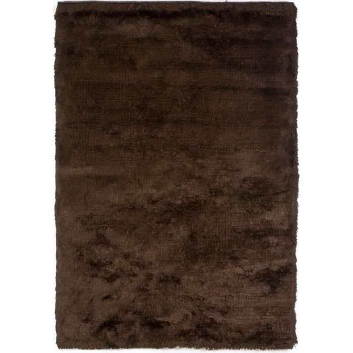 tapis shaggy a poils long imola chocolat 170x2 achat. Black Bedroom Furniture Sets. Home Design Ideas