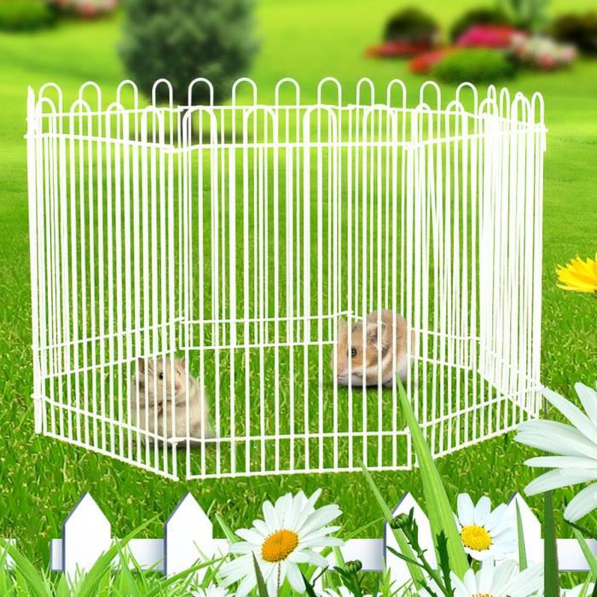 pliable cage boite cl ture pour chien chat rabbit hamster animaux parc mouvement achat vente. Black Bedroom Furniture Sets. Home Design Ideas