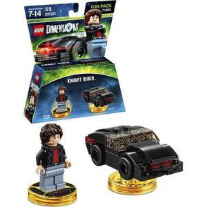 FIGURINE DE JEU Figurine LEGO Dimensions - Pack Héros - Knight Rid