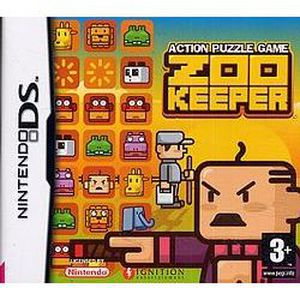 JEU DS - DSI ZOO KEEPER