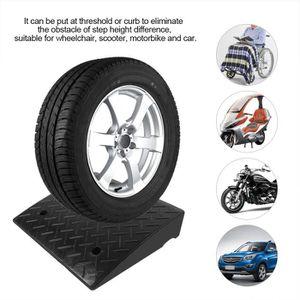 Rampe de seuil en caoutchouc portable 110 x 42 x 6,4 cm moto pour voiture robuste