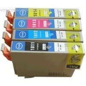 CARTOUCHE IMPRIMANTE 4 cartouches compatibles T1816 pour EPSON Expressi