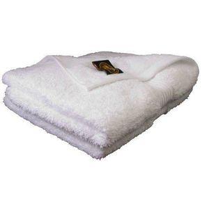 SERVIETTES DE BAIN Gözze, lot de 2 serviettes de toilette blanches, 5