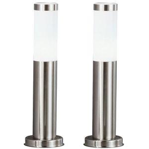 LAMPE DE JARDIN  2 x lampadaire DEL 7 watts luminaire sur pied LED