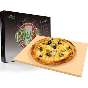 osoltus Pierre /à pizza professionnelle en cordi/érite ronde 30 cm x 1,5 cm pour pizza croustillante
