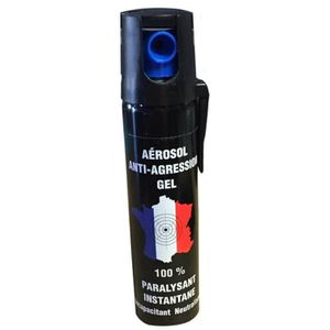 KIT DE SURVIE SPRAY ANTI AGRESSION GEL LIQUIDE BOMBE DE DEFENSE