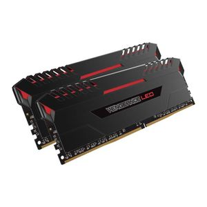 MÉMOIRE RAM Barette Mémoire à LED 2x8GB DDR4-2666