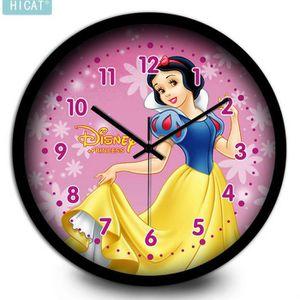 HORLOGE - PENDULE Disney Snow White Mute Horloge murale