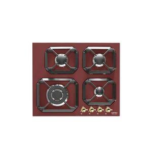 PLAQUE GAZ LOFRA table de cuisson  rouge HRR6G0 à valve-EDGE