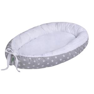 dimensions: 90 cm x 60 cm x 17 cm couffin de voyage portable anti-allergique certificat Oeko-Tex coussin pour b/éb/é LULANDO Baby Nest cocon pour b/éb/é//nourrisson cocon /à usage multiple