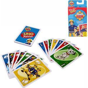 FIGURINE - PERSONNAGE UNO Junior Jeu de Cartes | Mattel FMW18 | 36 Carte
