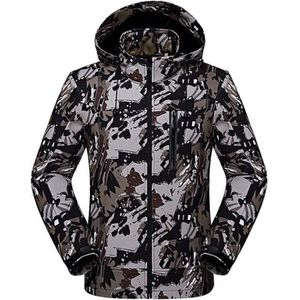 BLOUSON DE SKI Veste de Ski Homme Imperméable de Camouflage Casua