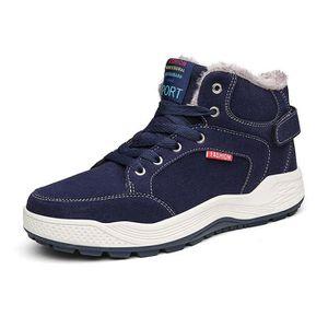 BOTTE Coton chaussures hommes hiver chaud plus velours h