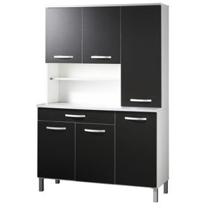 meubles encastr s cdiscount buffet de cuisine. Black Bedroom Furniture Sets. Home Design Ideas