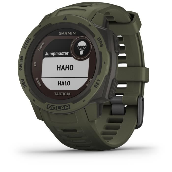 GARMIN Instinct® Solar Tactical Montre connectée, Moss
