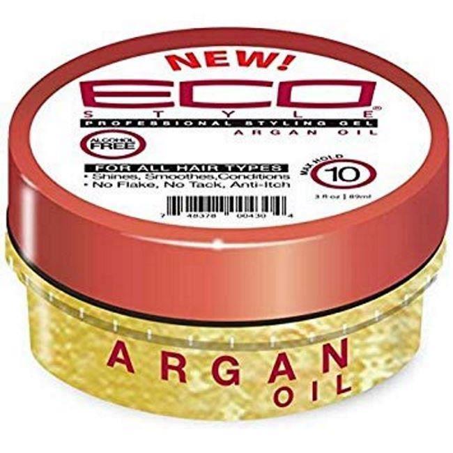 Eco Styler Gel d'Huile d'Argan 3oz