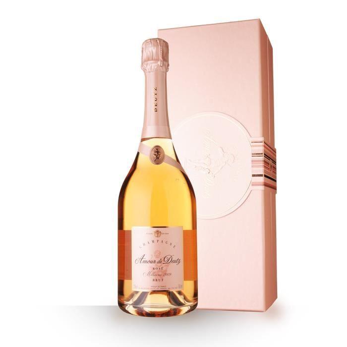 Amour de Deutz 2009 Brut Rosé - Coffret - 75cl - Champagne
