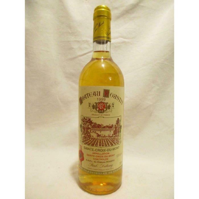 sainte-croix du mont château roustit liquoreux 1999 - bordeaux