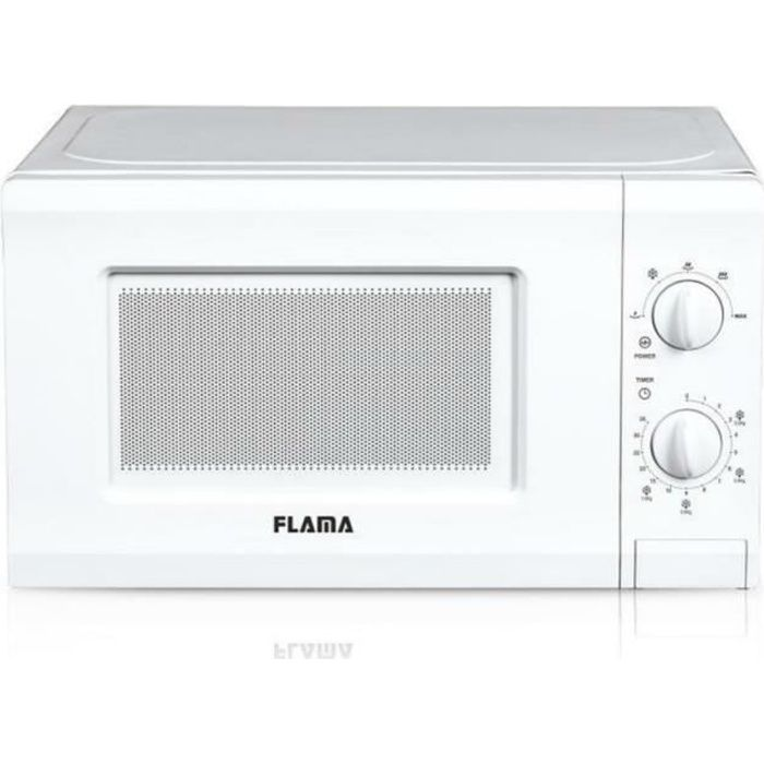 Flama 1817FL, Comptoir, Micro-ondes uniquement, 20 L, 700 W, Rotatif, Blanc