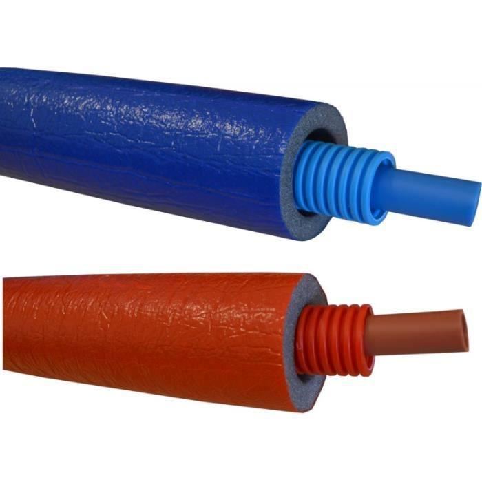 Tube per gainé isolé TRA (1 piece(s) - Rouge - ...