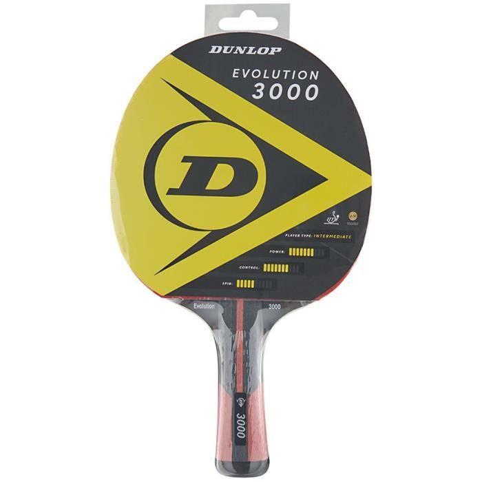 Raquette de tennis de table - DUNLOP - EVOLUTION 3000