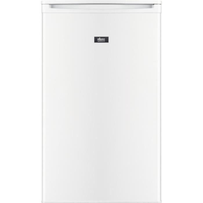 FAURE FXAN9FW0 - Réfrigérateur Table top 86L - congélateur 10L - Froid statique - L50cm x H85cm - Blanc