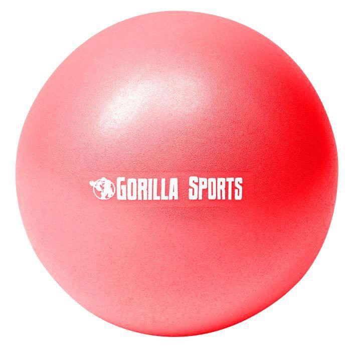 Mini-ballon d'exercice rouge, ballon léger de Pilates Soft Ball - Diamètre : 28 cm