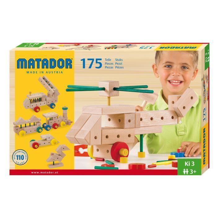 Matador - Ki 3 (jeux de construction en bois)