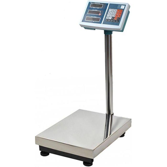 Balance industrielle électronique 100 kg MonMobilierDesign avec écran LCD