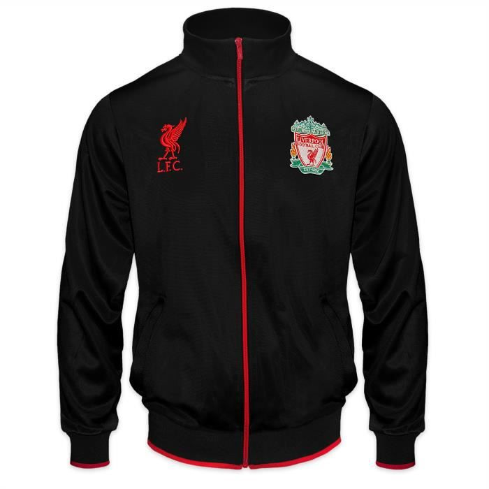 Liverpool FC officiel - Veste survêtement de football - homme - style rétro