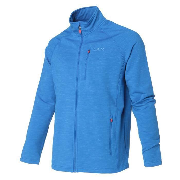 TRESPASS Polaire DLX Brolin - Homme - Bleu