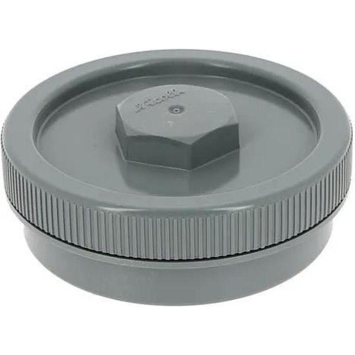 BOUCHON PVC DIAMETRE 140MM A COLLER - NICOLL