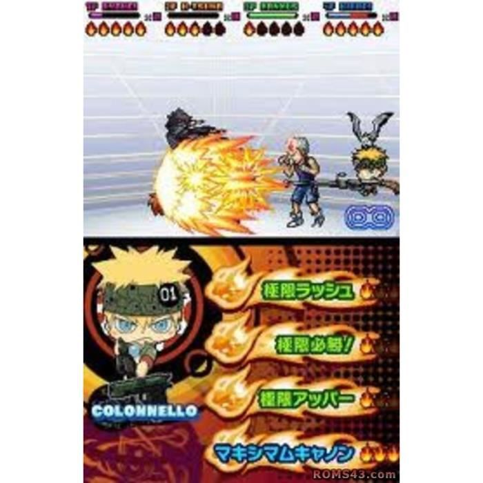Katekyoo Hitman Reborn! Ds Flame Rumble X (Import Japonais)