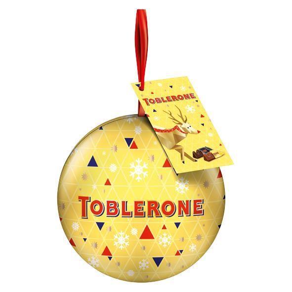 Toblerone Boule de décoration de Noël Pralines 96g