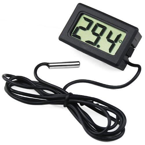 TRIXES Mini thermomètre numérique à affichage LCD pour frigos, congélateurs