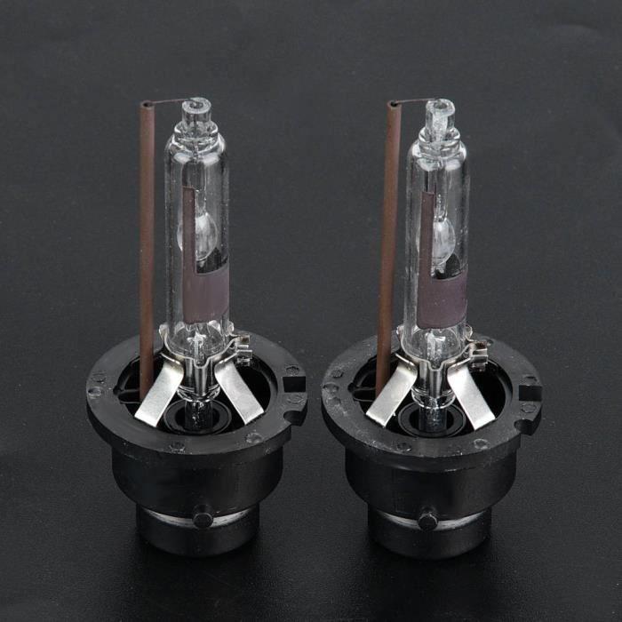 VINGVO Phare au xénon 2pcs D2R 6000K 35W voiture ampoules de remplacement de phare de lampe au xénon