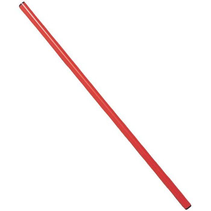Bâton de gymnastique rouge 80 cm