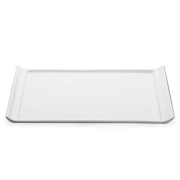 Porcelaine plateau affichage 33cm blanc plat de service domicile ou votre hôtel