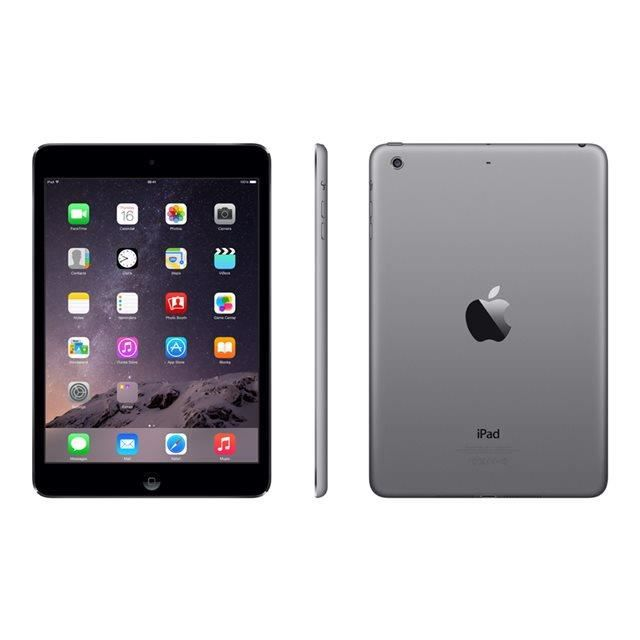 ipad apple ipad mini retina 32gb wifi gris sideral prix pas cher soldes cdiscount. Black Bedroom Furniture Sets. Home Design Ideas