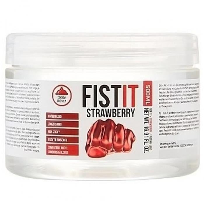ÉCARTEUR - SPÉCULUM Graisse Fist It Strawberry Eau 500 ml Fist It