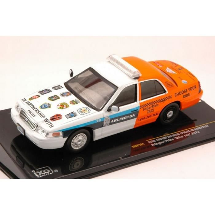VOITURE - CAMION IXO MOC161 FORD CROWN VICTORIA (POLICE INTERCEPTOR