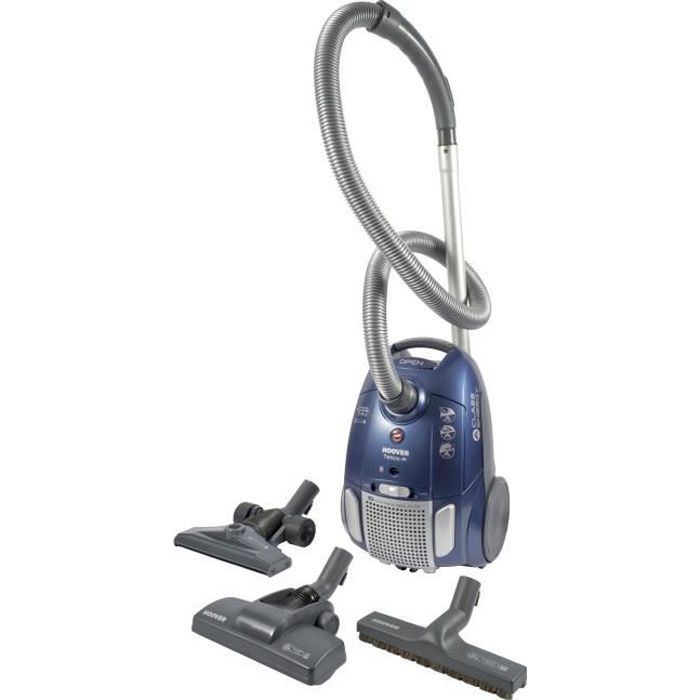 hoover te70 te30 aspirateur tra neau avec sac telios plus 700w 83 db a bleu achat. Black Bedroom Furniture Sets. Home Design Ideas