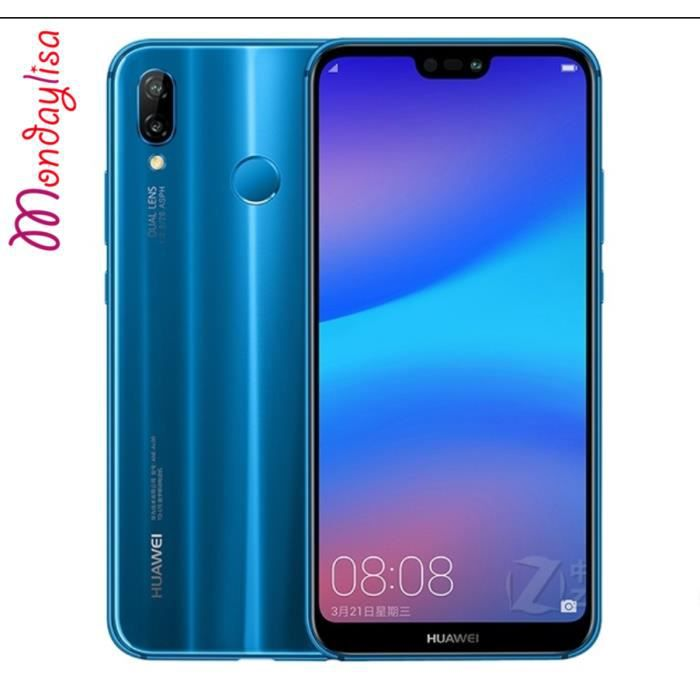 """SMARTPHONE Huawei P20 lite 4Go+64Go 5.8"""" smartphone Android 8"""