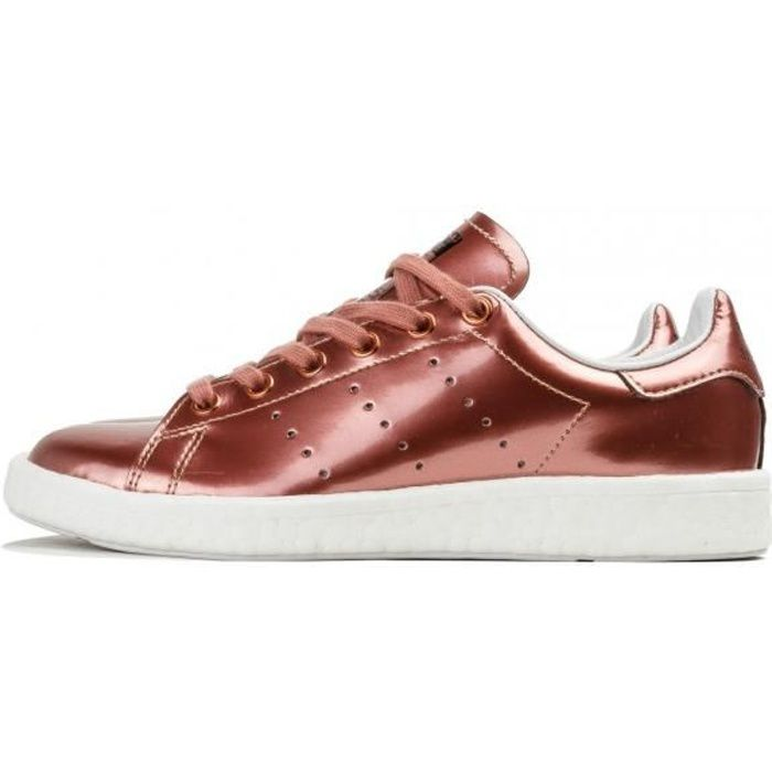 new authentic exquisite design so cheap Basket adidas Originals Stan Smith Boost - BB0107 Rouge - Achat ...