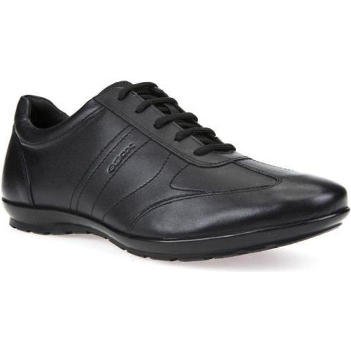 Homme Lacoste Chaymon Noir 1 Synthétique Chaussures en cuir 7-37CMA009402H Noir