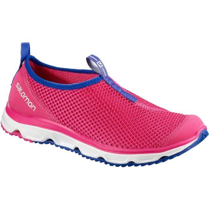 Salomon RX Moc 3.0 Womens Slip On Shoes Rose bleu Achat