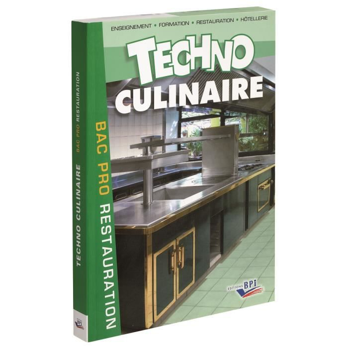 livre techno culinaire bac pro de michel maincent morel et robert labat achat vente livre. Black Bedroom Furniture Sets. Home Design Ideas