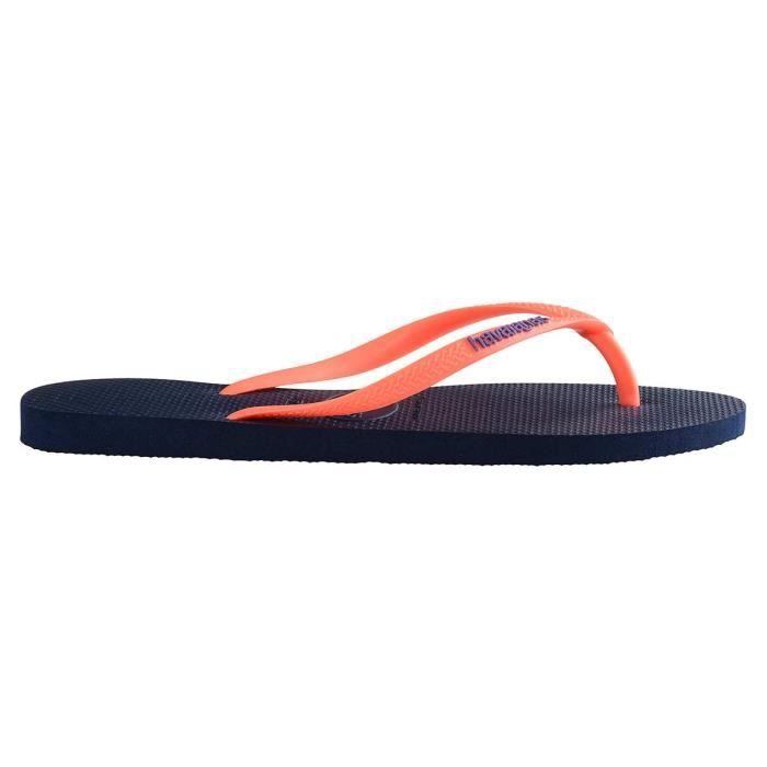 Tongs bleues Slim Logo xcCXnN7uoK