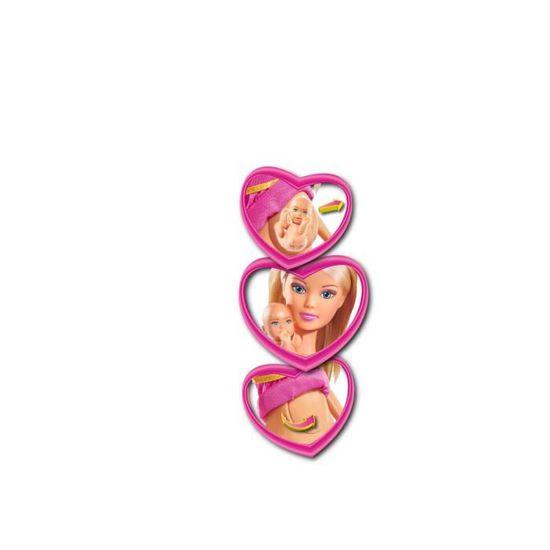 Famille Heureuse + Tom et Accessoires Smoby 105733200 Simba Steffi Love Ensemble de Poupée
